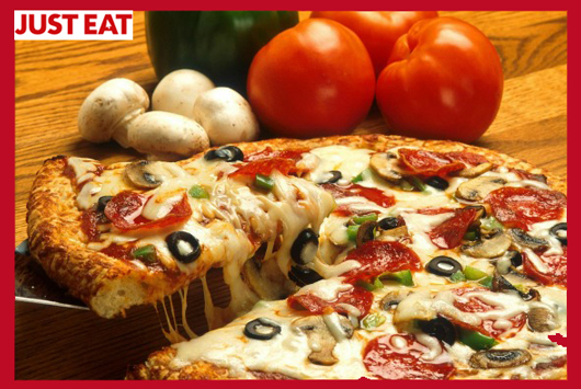 JUST EAT PIZZA