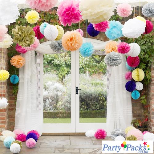 Party Packs decor